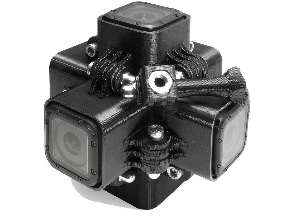 cámara de vídeo 360º