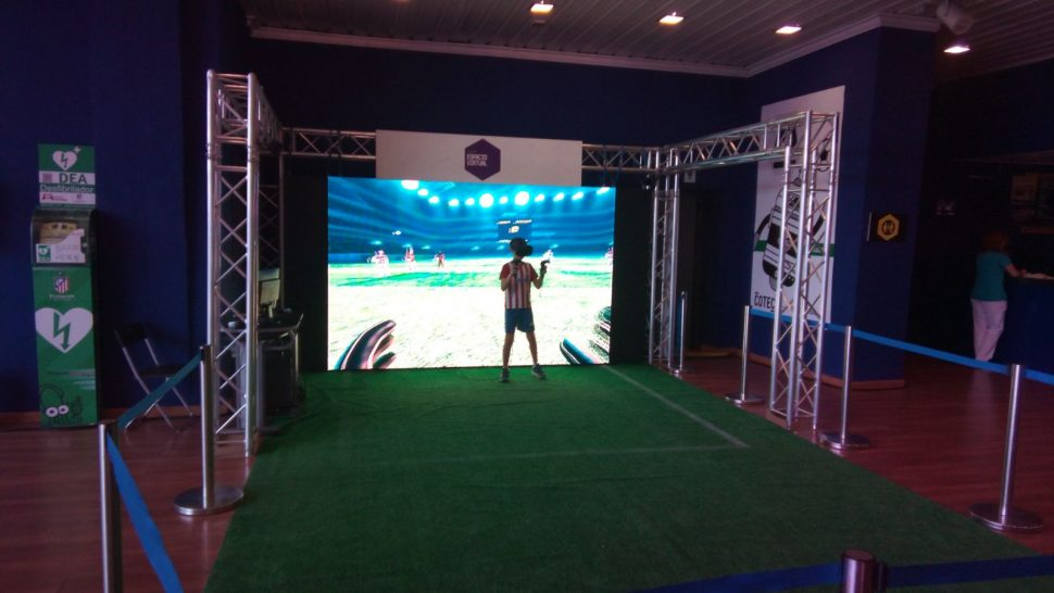 Realidad Virtual Goalkeeper VR